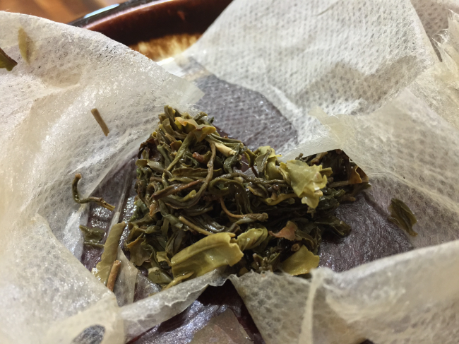 Nepal Green Spent Tea by Jocilyn Mors is licensed under a Creative Commons Attribution 4.0 International License.