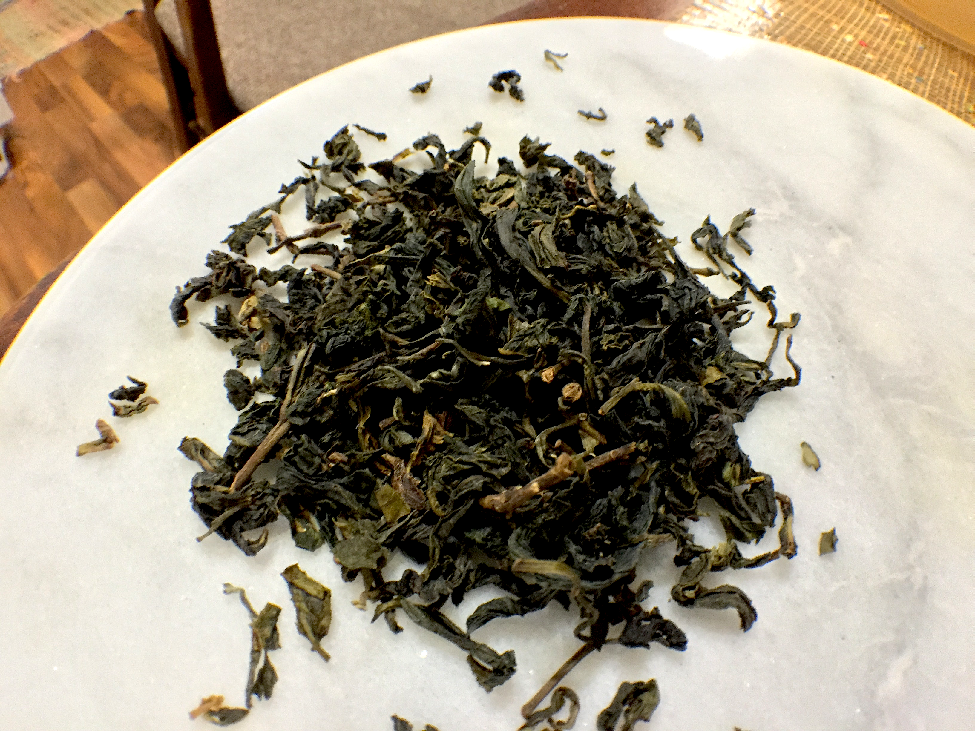 Bao Zhong High Grade (Art of Tea): loose leaf by Jocilyn Mors is licensed under a Creative Commons Attribution-ShareAlike 4.0 International License.