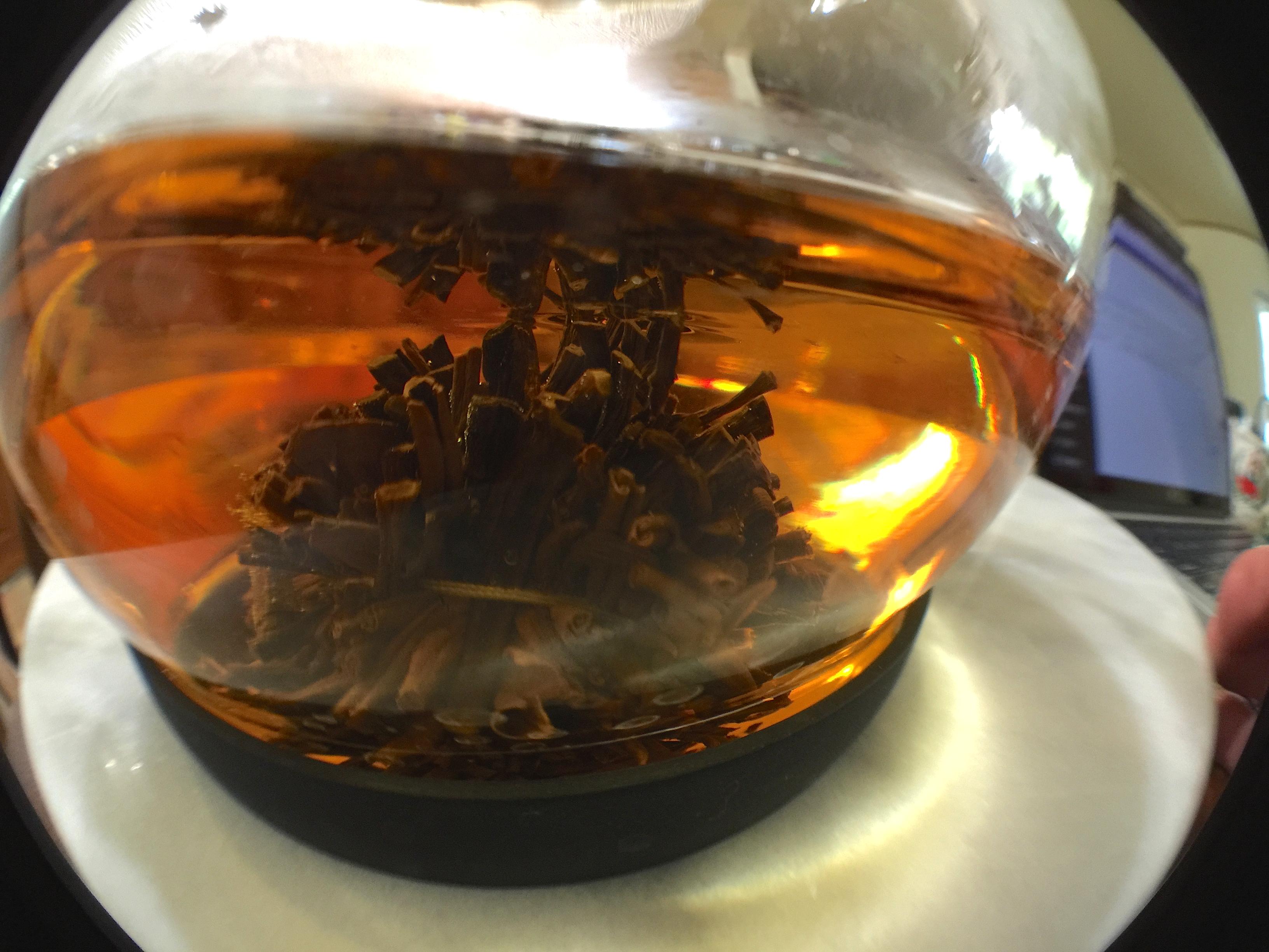 Black Peony (Art of Tea): On DisplayA by Jocilyn Mors is licensed under a Creative Commons Attribution-ShareAlike 4.0 International License.