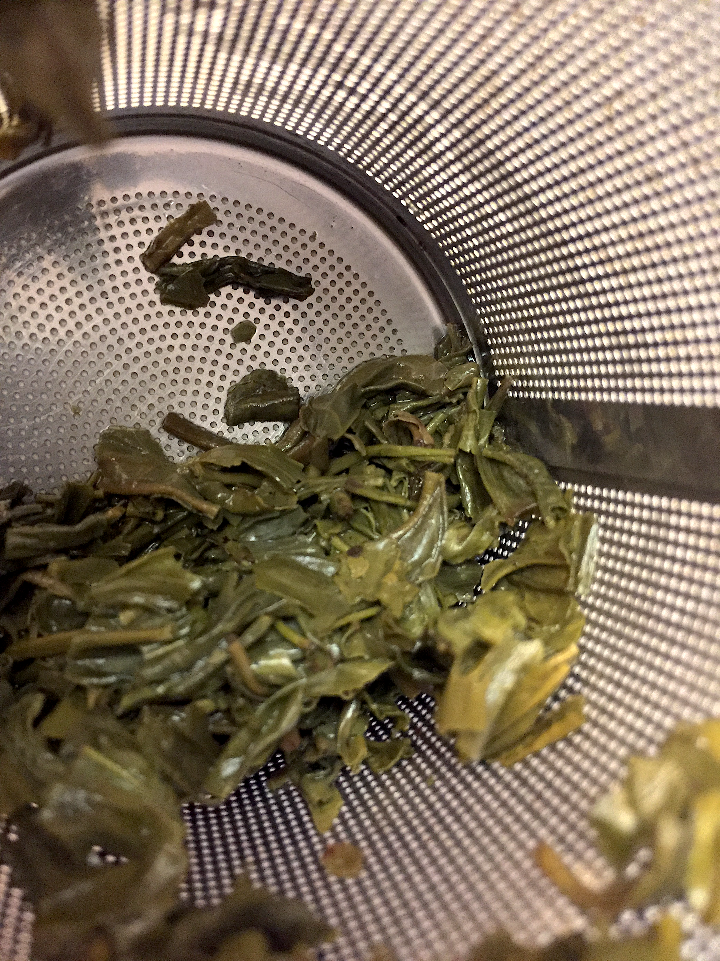 Photograph of Chun Mee (Arbor Teas) ~ spent by Jocilyn Mors is licensed under a Creative Commons Attribution-NonCommercial-ShareAlike 4.0 International License.
