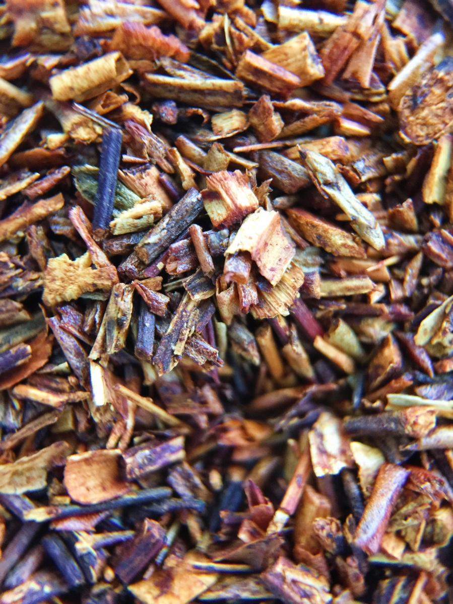 Photograph of Vanilla Rooibos (Adagio) ~ CTC Macro 14x by Jocilyn Mors is licensed under a Creative Commons Attribution-NonCommercial-ShareAlike 4.0 International License.