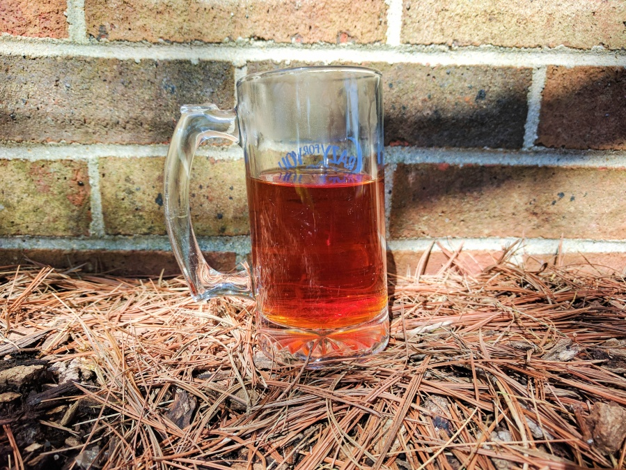 Photograph of Vanilla Rooibos (Adagio) ~ liquor by Jocilyn Mors is licensed under a Creative Commons Attribution-NonCommercial-ShareAlike 4.0 International License.